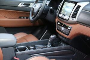 SsangYong Rexton G4, koreańskie auto, motoryzacja, samochód,