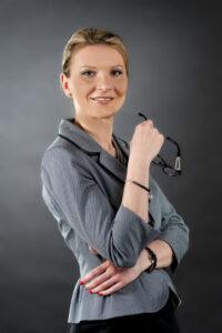 Anna Szymczak, prezes zarządu Iławskiego Przedsiębiorstwa Budowlanego