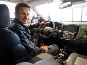 Bartłomiej Topa ambasadorem auta Mitsubishi Outlander