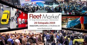 Targi Fleet Market 2019 – tu spotyka się biznes z motoryzacją