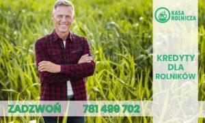 Wysoki i korzystny kredyt dla rolnika